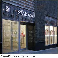 Swarovski Crystal Forest boutique