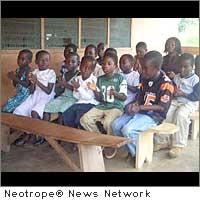 feed children in Ghana