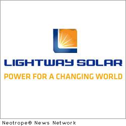 Lightway Solar America, Inc.